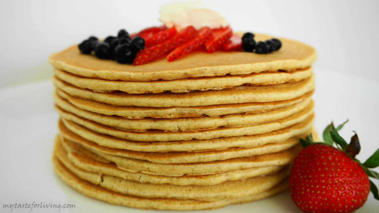 Fluffy pancakes - the perfect breakfast.