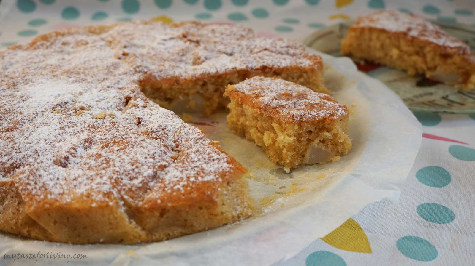 Fragrant, easy and irresistible pear cake, which you should definitely try!