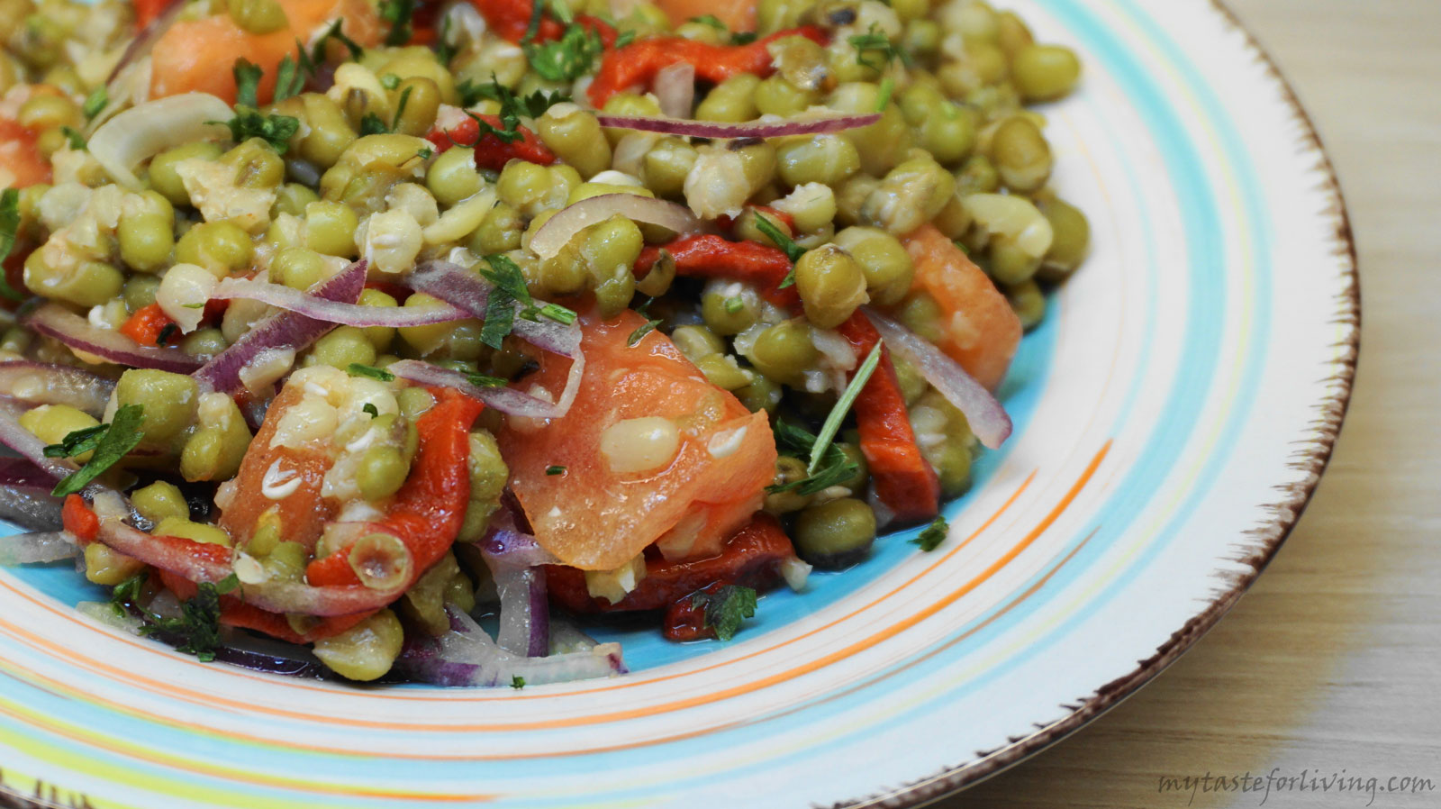 I offer you a fresh suggestion for a recipe with mung bean.