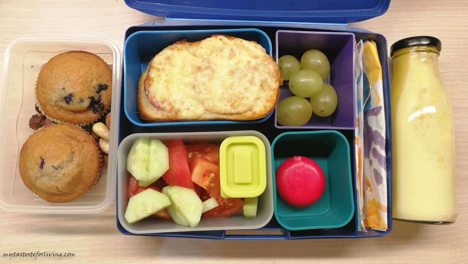 5 Ideas for homemade food in a lunchbox
